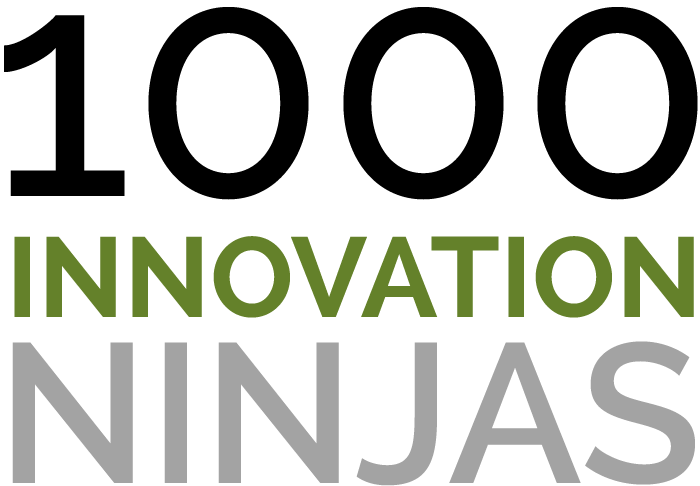 1000 innovation ninjas logo